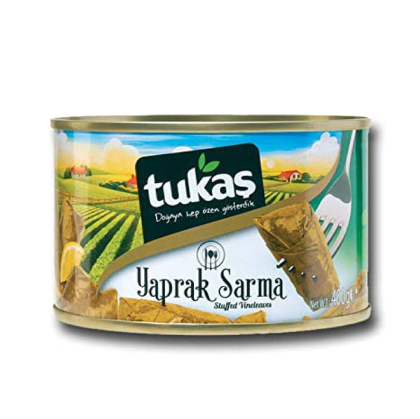 Tukas Stuffed Vine Leaves 400g