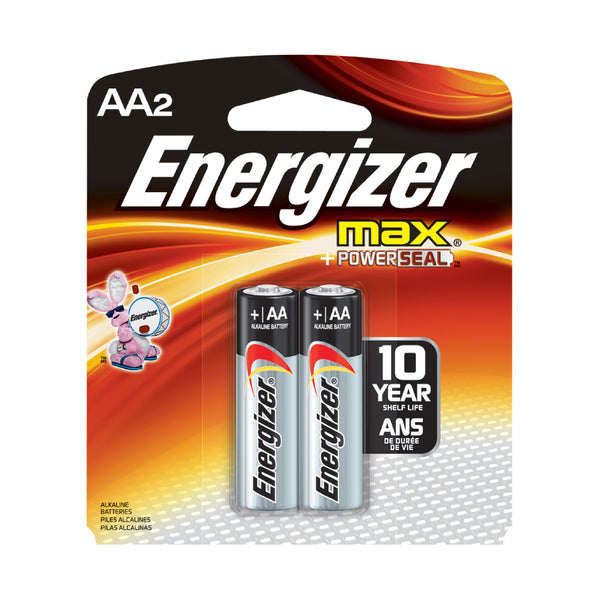 Energizer AA, 2 pack
