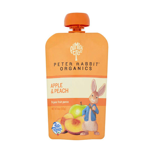 Peter Rabbit Organics Apple&Peach 4oz