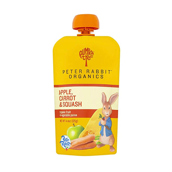Peter Rabbit Organics Apple, Carrot&Squash 4oz
