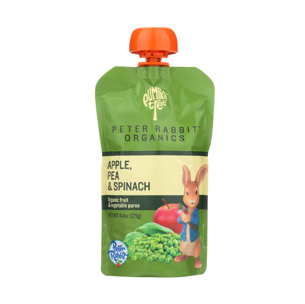 Peter Rabbit Organics Apple, Pea&Spinach 4oz