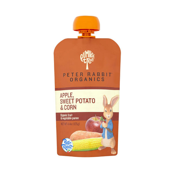 Peter Rabbit Organics Apple, Sweet Potato&Corn 4oz