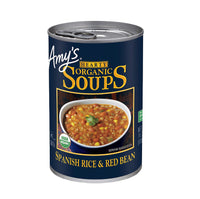 Amy's Hearty Spanish Rice&Red Bean Soup OG 416g