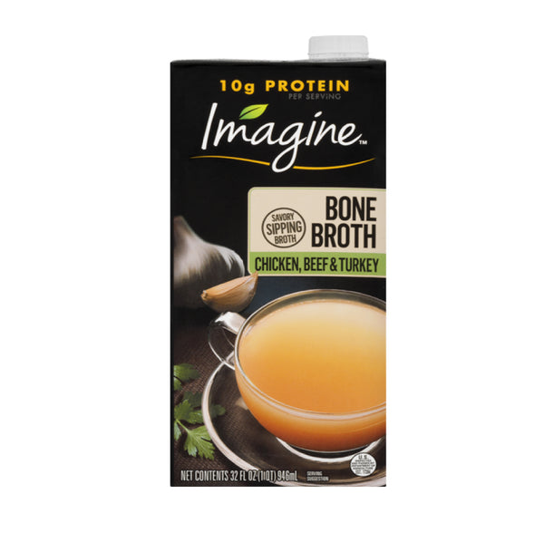 Imagine Bone Broth Chicken Beef Turkey 946ml