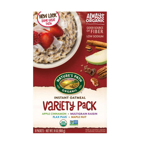 Nature's Path Instant Oatmeal Variety Pack 400g