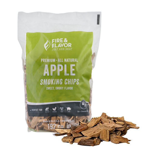Fire & Flavor Apple Smoking Chips 2Ib