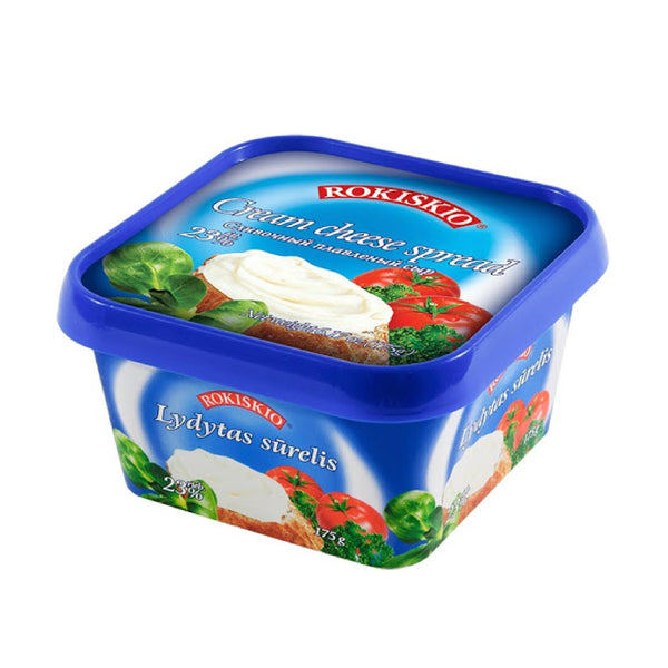 Rokiskio Cheese Spread - Plain 175g