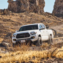 "Load image into Gallery viewer, FOX Factory Race Series w/ DSC Reservoir, Front Coilover, 0-3"" Lift, 2005+ Tacoma 2/4WD"