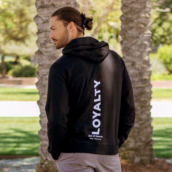 "Ace Of Hearts Dog Rescue ""Loyalty"" Hoodie"
