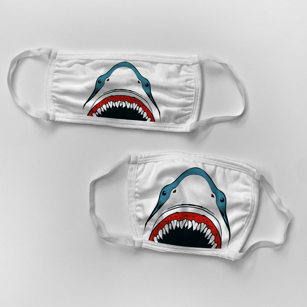 Daddy and Me Shark Mouth Masks Bundle (set of 2 masks)