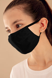 Black Basic Pro Masks (Pack of 50)