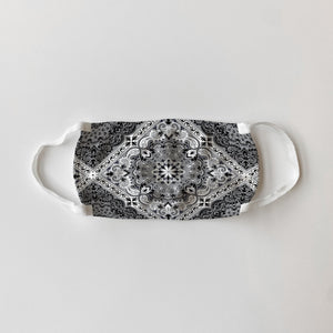 Grey Mandala Mask