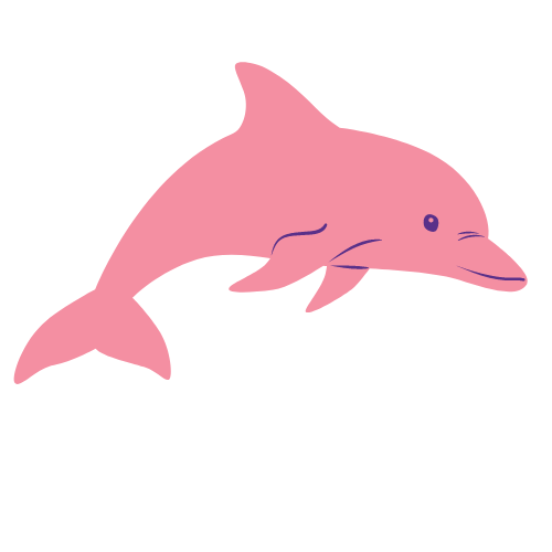 Pink River Dolphin - native to Colombia