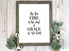 Load image into Gallery viewer, Fire & Grace Print