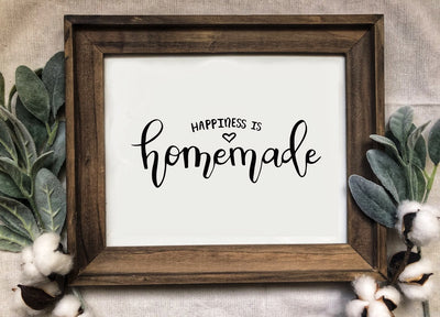 Happiness is Homemade - 8x10 Print - Kmoe Design Co.,  - home decor,  - farmhouse