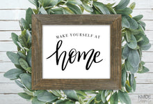Load image into Gallery viewer, Make Yourself At Home Print Kmoe Design Co.