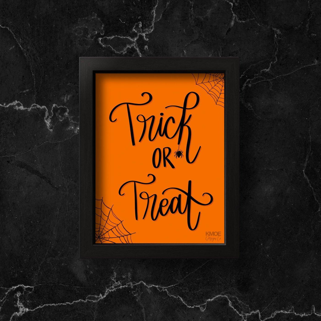 Trick or Treat Print Kmoe Design Co.