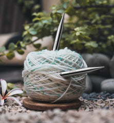 The Best Yarns for Knitting, Weaving, Crochet, and More - Roll of yarn