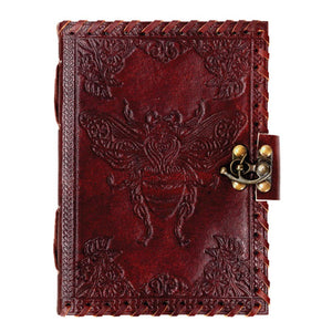 Bee Leather Journal