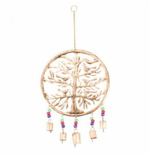 Recycled Copper Tree of Life Wind chime