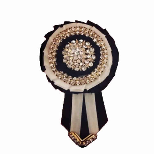 Removable Rosettes, Black, White