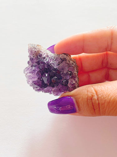 Amethyst Cluster Stone - The Kori J. Collection