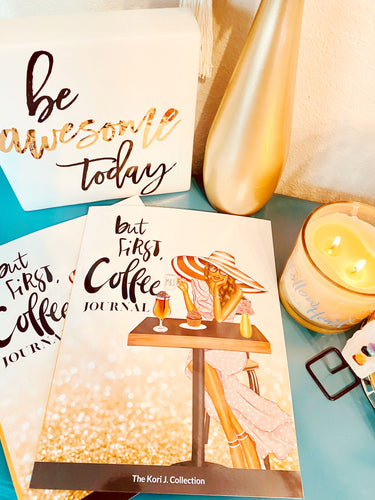 Coffee Lovers Gratitude Journal - The Kori J. Collection