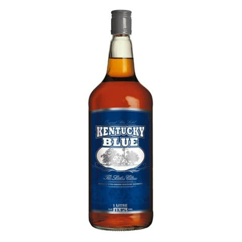 Kentucky Blue Label Bourbon 13.9%, 1 litre - Liquor Mart online gifts NZ