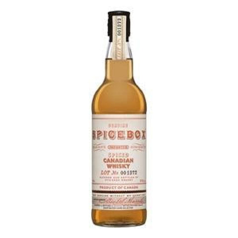 SPICEBOX SPICED CANADIAN WHISKY 700ML - Whiskey
