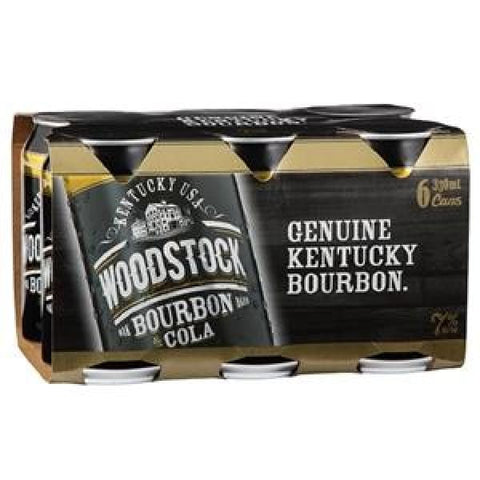WOOODSTOCK 7% 330ML 6PK CANS - Rtds