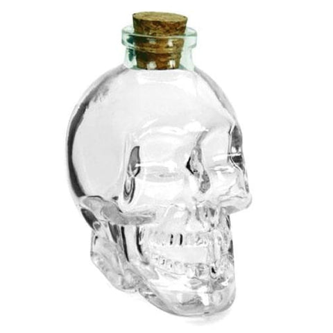 Crystal Skull Bottle 375ml - skull bottle