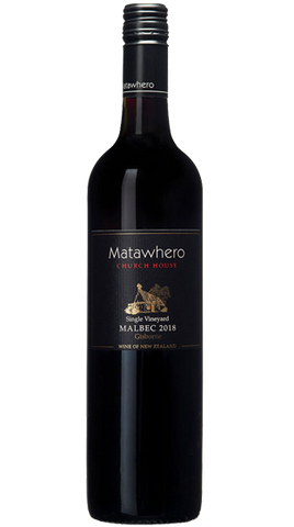 Matawhero Church House Gisborne Malbec 2013, 750ml - Liquor Mart