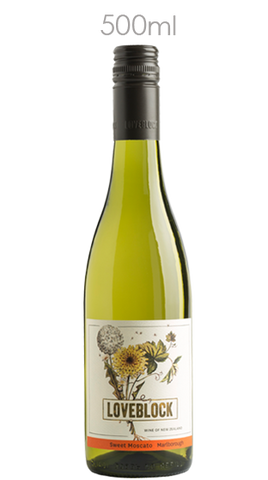 Loveblock Marlborough Sweet Moscato 2014, 500ml - Liquor Mart