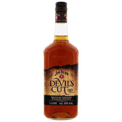JIM BEAM DEVILS CUT 45% 1LTR (LIMITED EDITION) - Liquor Mart online gifts NZ