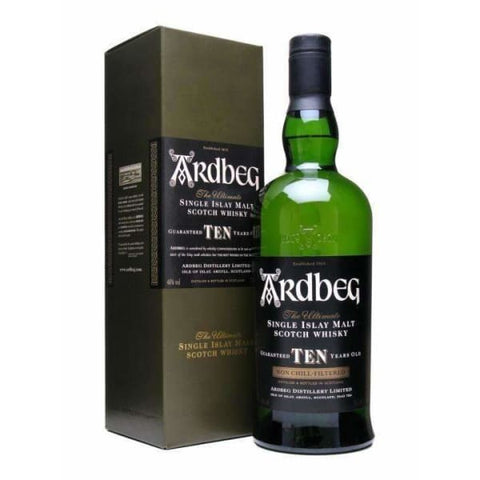 Ardbeg 10yr old Malt Whisky 46%, 700ml - Liquor Mart online gifts NZ