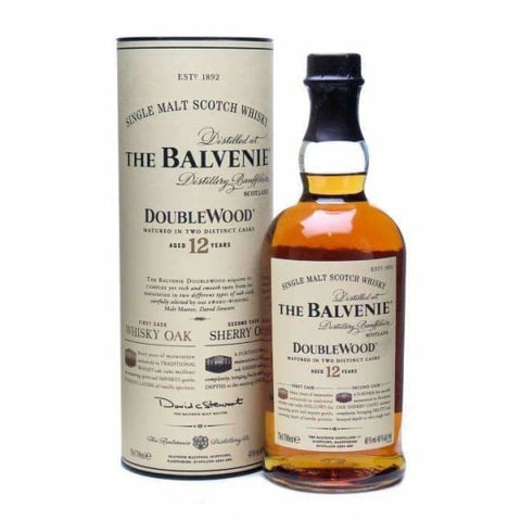 Balvenie 12yr old Double Wood Malt 40%, 700ml - Liquor Mart online gifts NZ