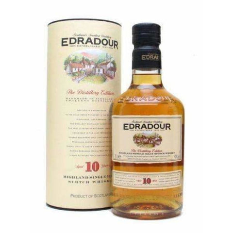 Edradour 10 YO Malt Whisky 700ml - Liquor Mart online gifts NZ