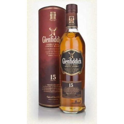 Glenfiddich Solera Reserve 15yr old Malt 40%, 700ml - Liquor Mart online gifts NZ