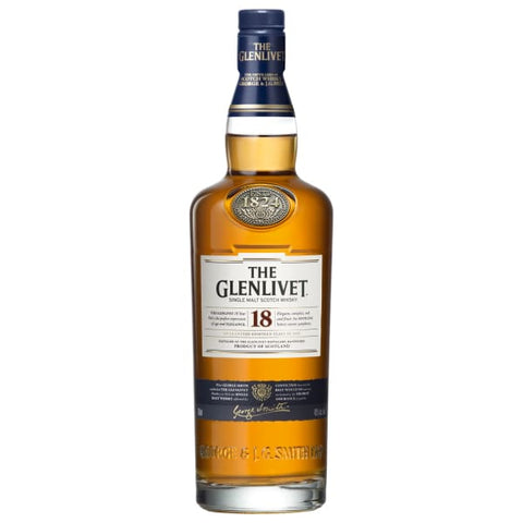 GLENLIVET MALT 18YO 700ML - Liquor Mart online gifts NZ
