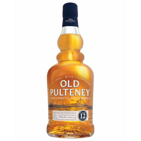 Old Pulteney 12yr Old Malt 40%, 700ml - Liquor Mart online gifts NZ