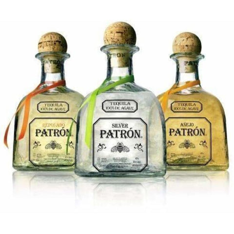 Patron Tequila Rainbow Pack 40%, 3x50ml - Liquor Mart online gifts NZ