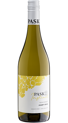 Pask Sun Kissed Pinot Gris 2019