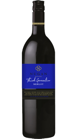 Nugan Third Generation Merlot 2014, 750ml - Liquor Mart