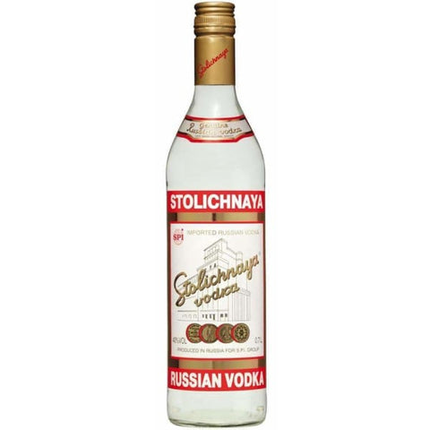 Stolichnaya Russian Vodka 40%,1 litre - Liquor Mart online gifts NZ