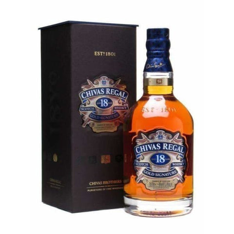 Chivas Regal whisky 18yr old 700 ml - Liquor Mart online gifts NZ
