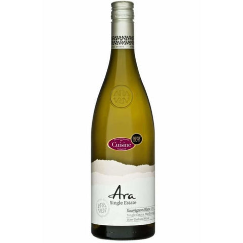 ARA SINGLE Estate SAV BLANC 750ML - Liquor Mart online gifts NZ
