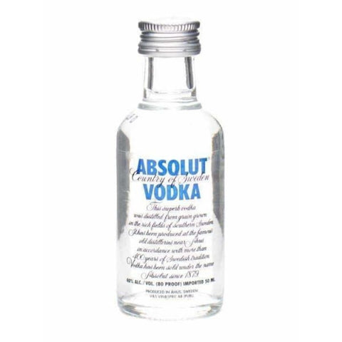 ABSOLUT VODKA MINS - Liquor Mart online gifts NZ