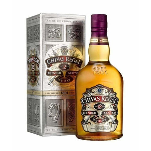 Chivas Regal whisky 12 year old, 700ml - Liquor Mart online gifts NZ