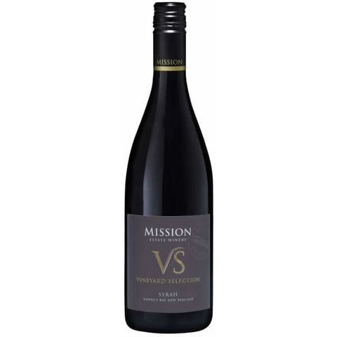 Mission VS Syrah 750ml - Liquor Mart online gifts NZ