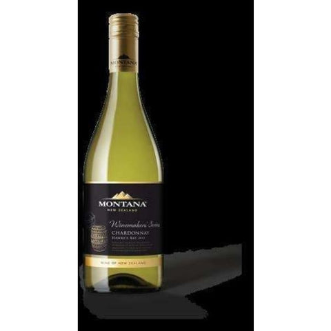 Montana Winemakers HB Chardonnay 750ml - Liquor Mart online gifts NZ